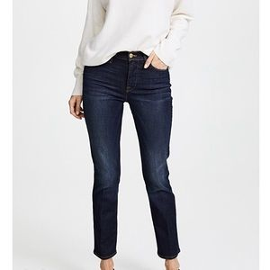 Frame Le High straight jeans in Wellington size 31